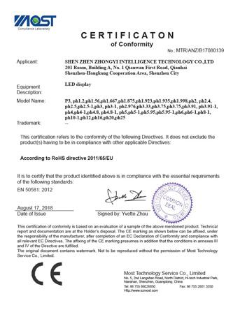 ROSH证书