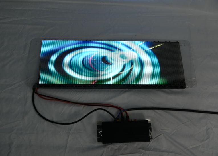 LED透明车载屏